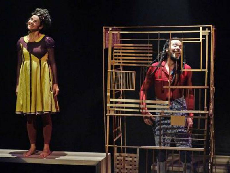 """Espetáculo """"A Gaiola"""", em cartaz no CCBB (Foto: Divulgação)"""