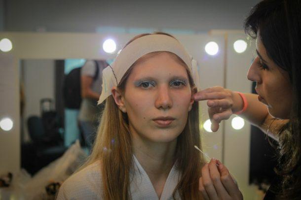Fabiana Gomes ficou responsável pela assinatura da beleza (Foto: AgNews)