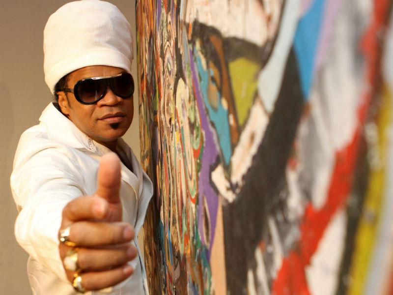 Carlinhos Brown já expôs no Palácio do Planalto (Foto: Divulgação)