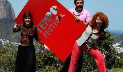 Márcia Dias, Cesar Augusto e Bia Junqueira (Foto: Divulgação)