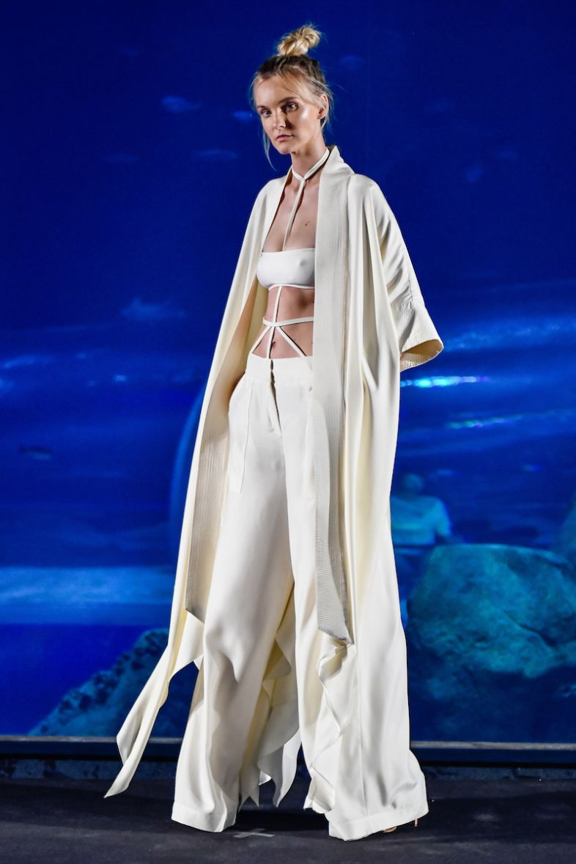 Desfile de Lenny Niemeyer no Elle Fashion Preview (Foto: Agência Fotosite)