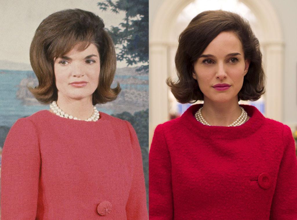 Jackie e Natalie Portman revivendo a ex-primeira-dama