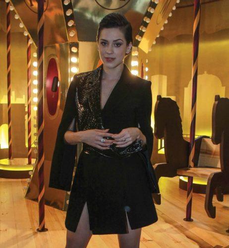 Sophia Abrahão na São Paulo Fashion Week (Foto: AgNews)