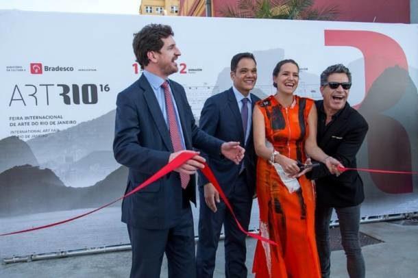 Os curadores do evento Leonardo Espindola, Márcio Parizotto, Brenda Valansi e Luiz Calainho (Foto: Divulgação)
