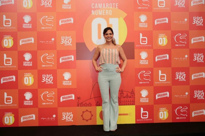 Carol Sampaio cuida da parte artística dos dois dias de evento (Foto: Felipe Panfili)