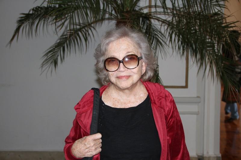 No Palace Hotel, a dama das artes Nathália Timberg - Foto: Poços de Caldas (MG): Henrique Fonseca