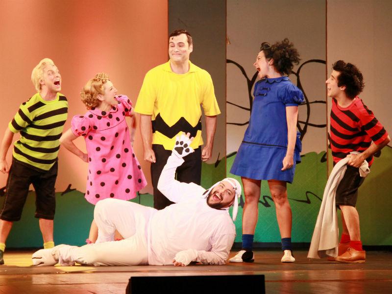 """Elenco do musical """"Meu Amigo Charlie Brown"""" (Foto: Graça Paes/Zapp News)"""