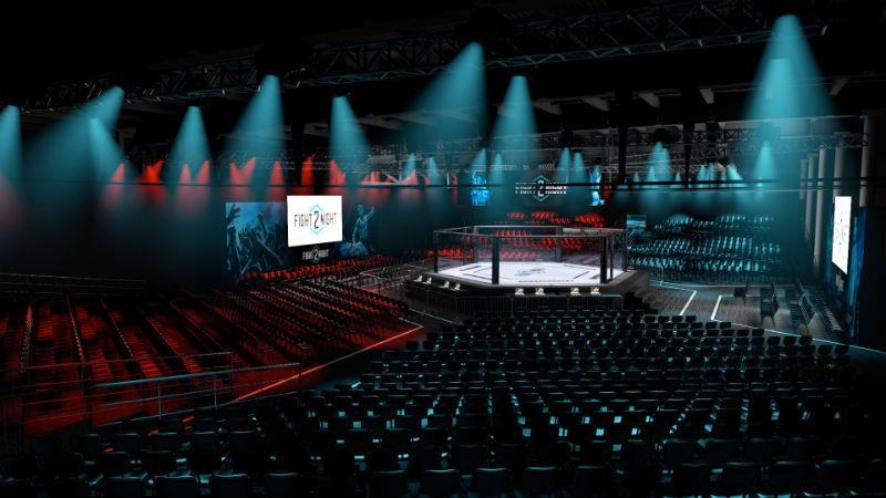 O Fight 2 Night rola esta noite na Marina da Glória (Foto: Divulgação)