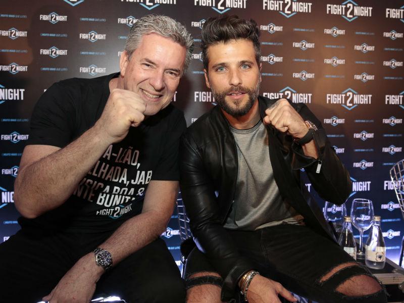 Roberto Baldacconi e Bruno Gagliasso (Foto: Divulgação)