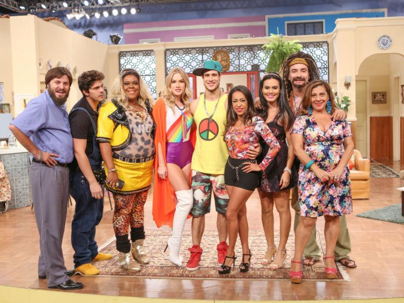 Episódio desta quarta temporada que marca o retorno de Máicol ao seriado (Foto: Gianne Carvalho/Divulgação Multishow