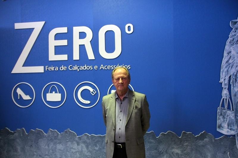 Heitor Klein, presidente da Abicalçados (Foto: Gramado (RS) - Henrique Fonseca)