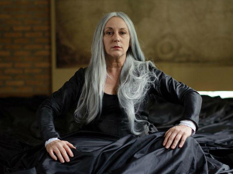 """Lu Grimaldi em """"Palavra de Rainha"""" (Foto: Reprodução)"""