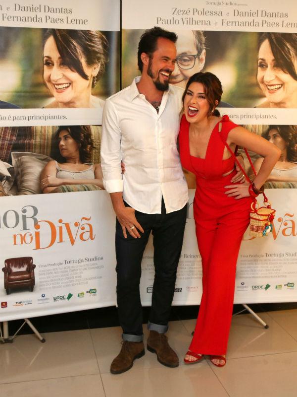 Paulo Vilhena é Miguel e Fernanda Paes Leme interpreta Roberta no longa (Foto: AgNews)