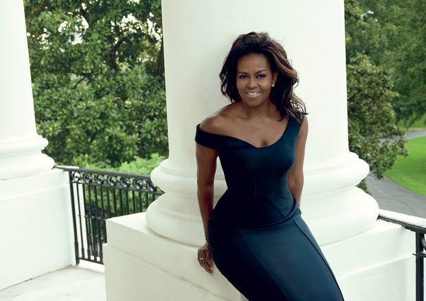 Michelle Obama em editorial para a publicação americana (Foto: Reprodução)