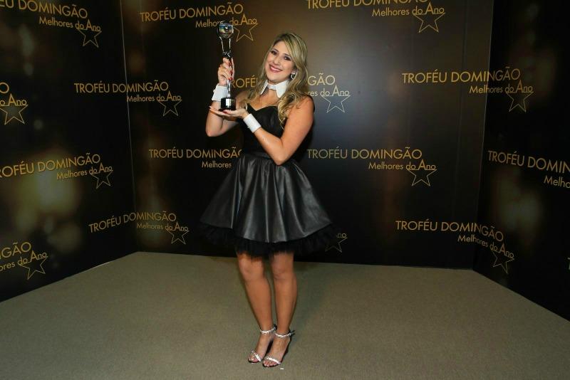 Dani Calabresa foi eleita a melhor humorista (Foto: AgNews)