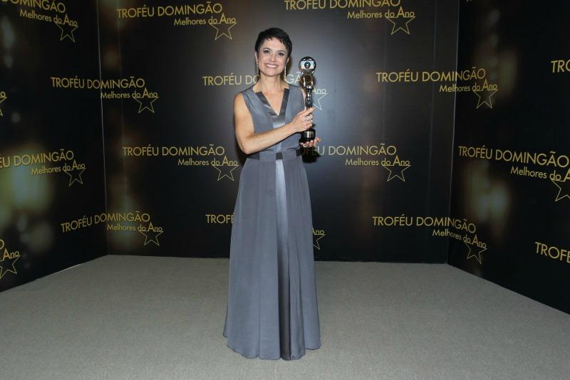Sandra Annemberg foi escolhida como a melhor jornalista de 2016 (Foto: AgNews)