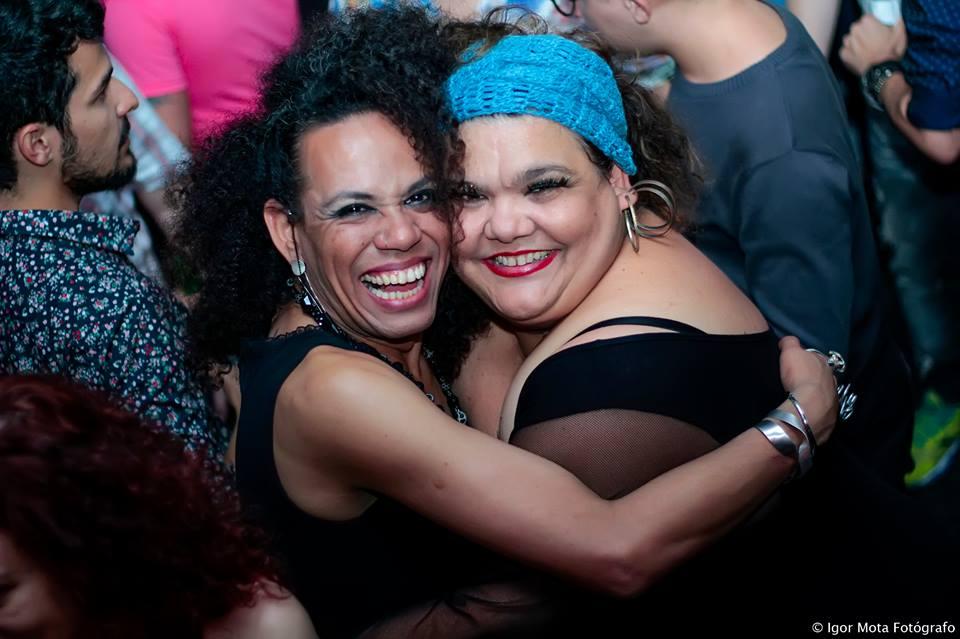 Valéria Houston e Simone Mazzer