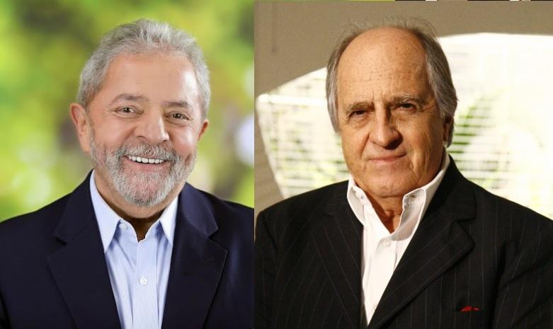 Lula e Ary Fontoura (Foto: Divulgação)