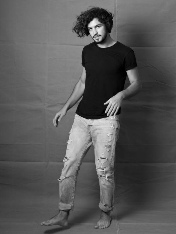 Gabriel Leone na coluna #RetratosDoBispo para o site HT (Foto: Jorge Bispo)