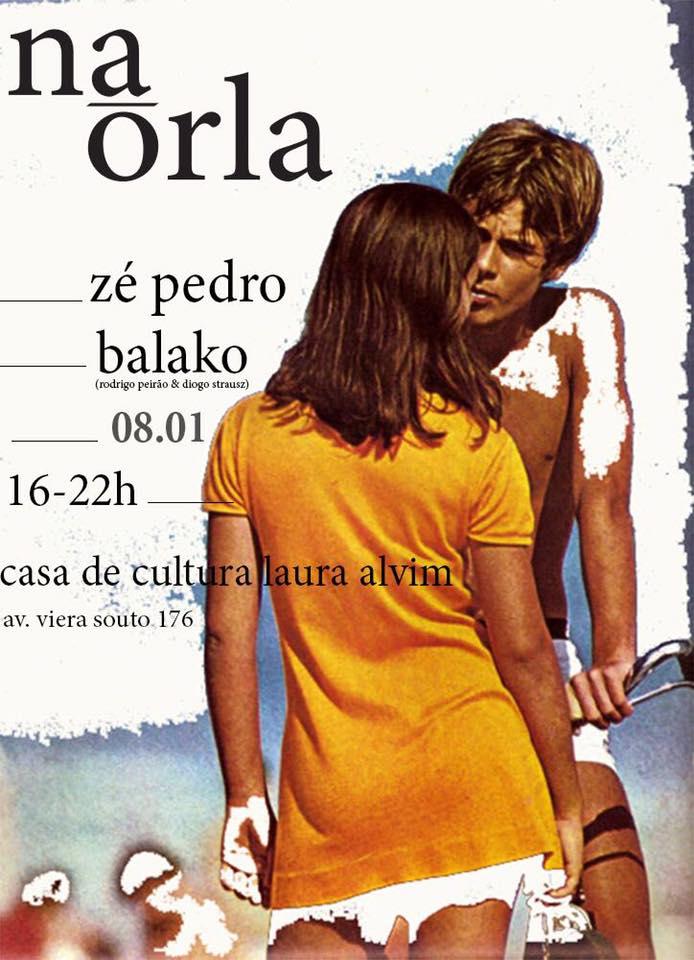 Na Orla estreia neste domingo na Casa de Cultura Laura Alvim (Foto: Reprodução)