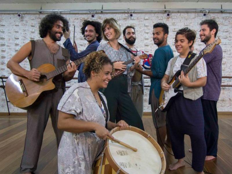 """Elenco da peça """"A Hora da Estrela"""", com texto de Clarice Lispector (Foto: Divulgação)"""