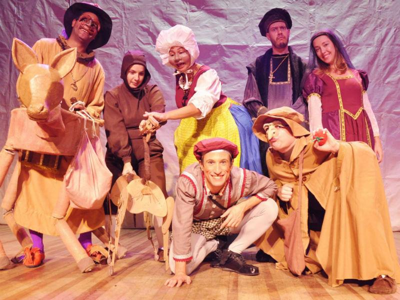 """O espetáculo """"Leonardo - o pequeno gênio Da Vinci"""" é uma das atrações da programação infantil (Foto: Divulgação)"""