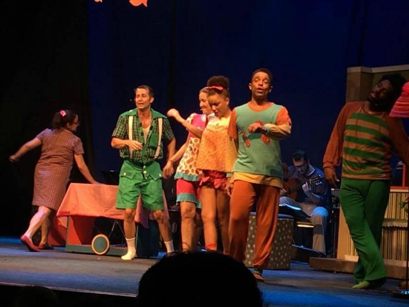 """""""Bossa Novinha - A Festa do Pijama"""" foi uma das atrações do domingo multicultural na Arena Banco Original (Foto: Julia Pimentel)"""