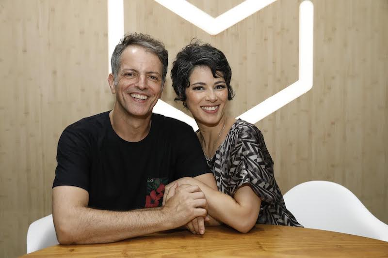 Marcelo Várzea e Lilian Menezes: teatro na Arena Banco Original (Foto: Felipe Panfili)