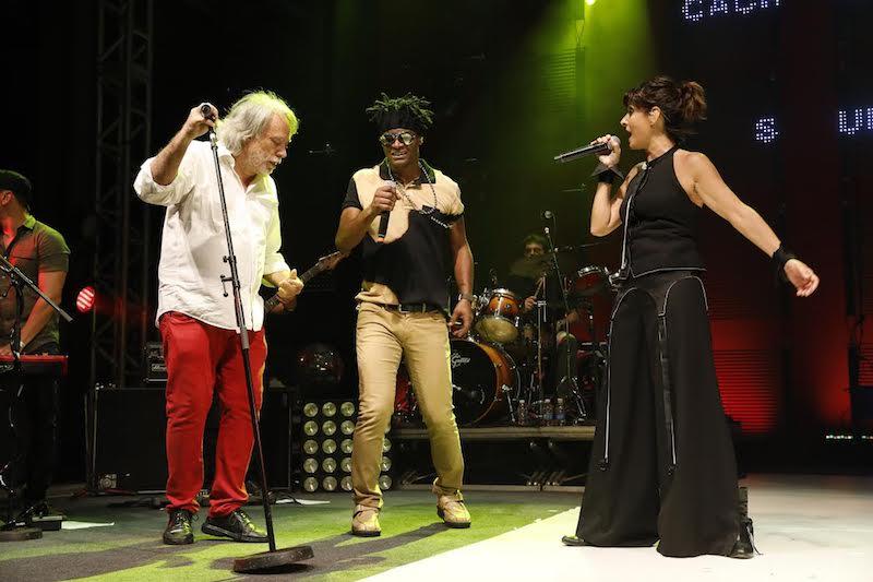 Fausto Fawcett, Toni Garrido e Fernanda Abreu (Foto: Felipe Panfili)