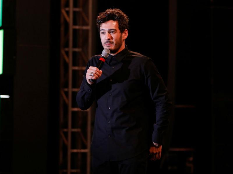 """Marcos Veras apresentou o monólogo """"Falando a Veras"""" na Arena Banco Original (Foto: Felipe Panfili)"""