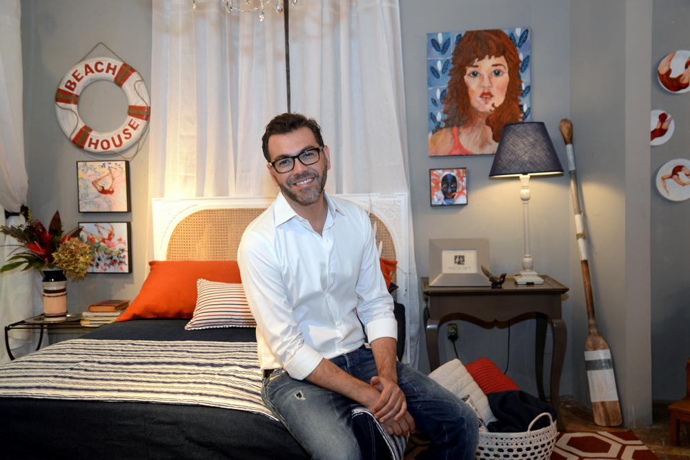 Criador e criatura: Newton Lima apresenta o espaço criado por ele na Secrets de Famille
