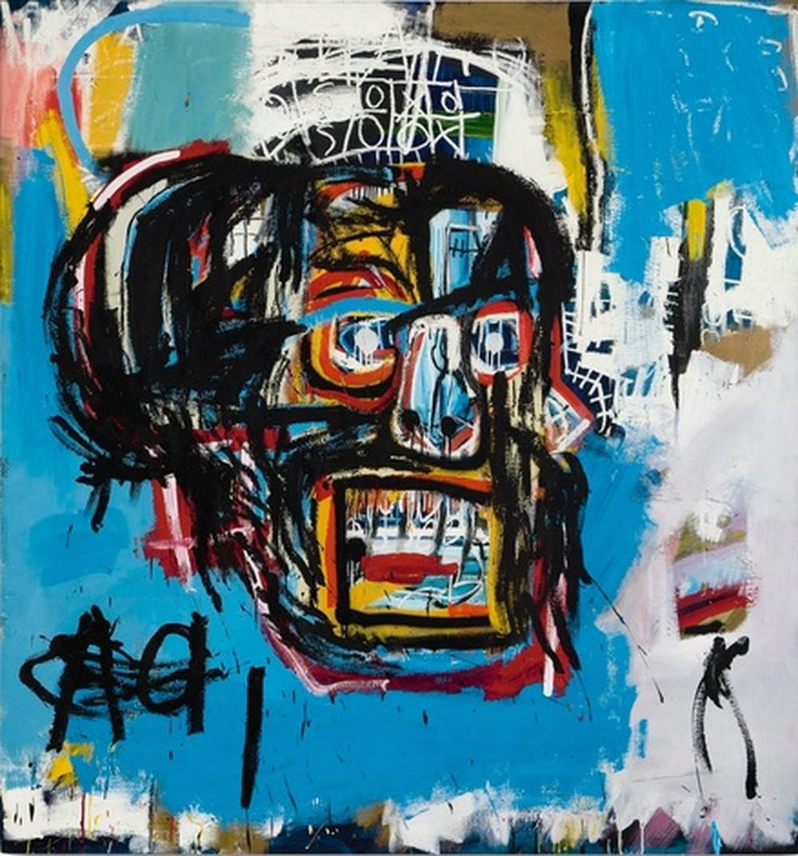 Obra de Basquiat leiloada por US$110 milhões