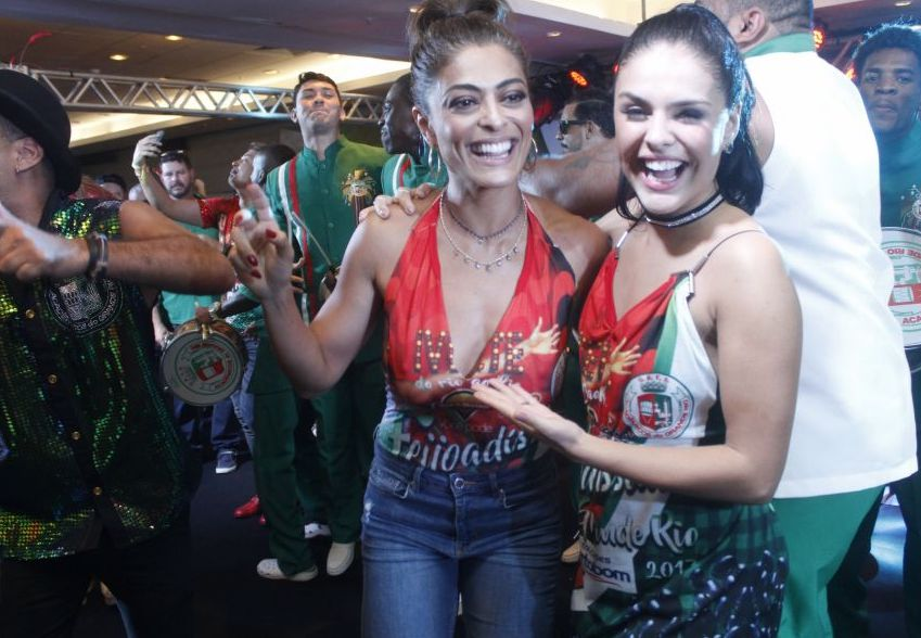Juliana Paes vai ser rainha de bateria da Grande Rio