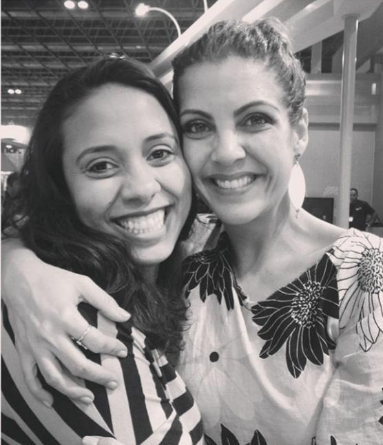Fabiane Pereira e Thalita Rebouças