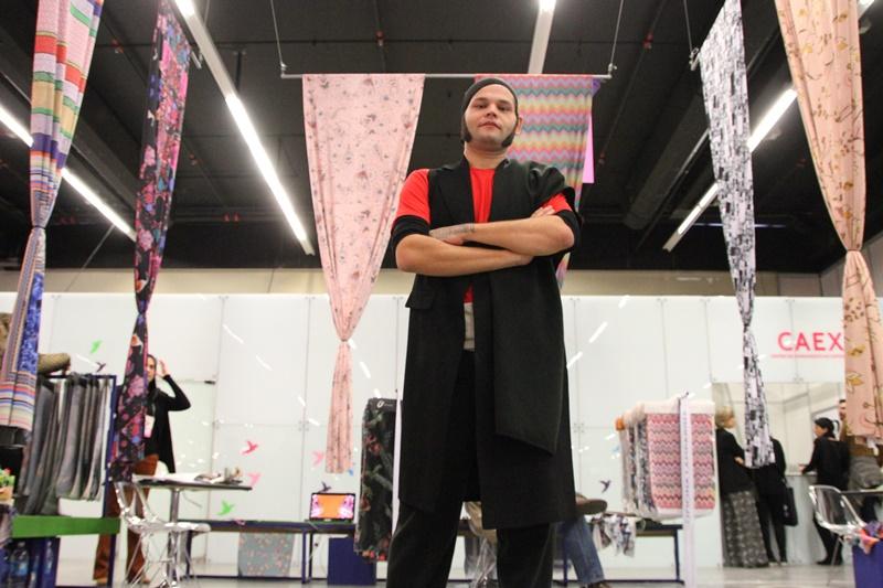 Lucius Vilar à frente do projeto + Estampa (Foto: Henrique Fonseca)