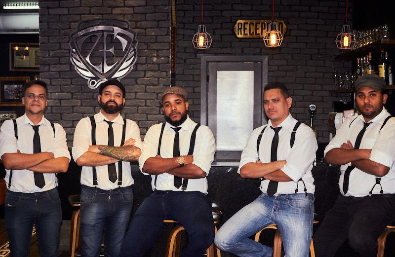 Everson Perninha e sua equipe por Miguel Moraes