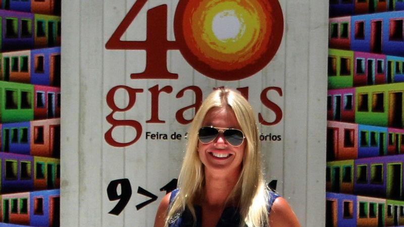 Roberta Plestch é diretora de mercado da Merkator, organizadora da feira (Foto: Henrique Fonseca)