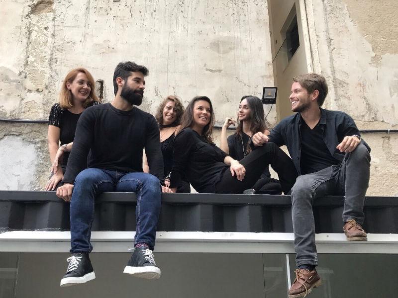 O grupo de arquitetos da exposição Harbor + é formado por Cristina Tuñas, David Silva, Bebel Portugal, Chris Bernardes, Livia Quintella e Victor Niskier (Foto: Divulgação)