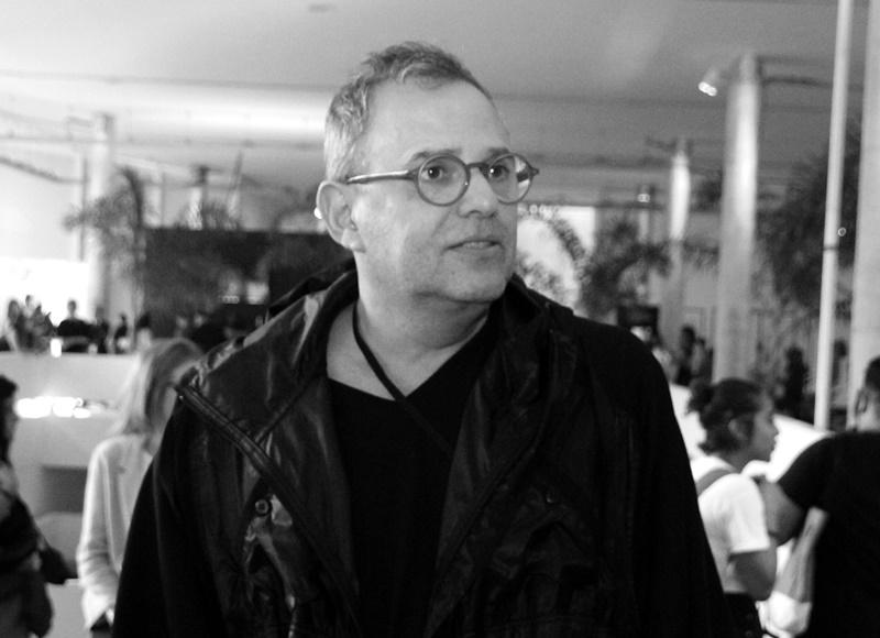 Paulo Borges falou sobre a internacionalização da SPFW (Foto: Henrique Fonseca)