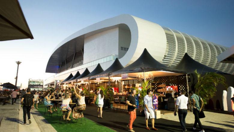O Terminal Marítimo como espaço reservado para o DFB Festival (Foto: Divulgação)
