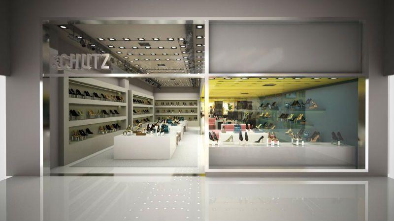 b74d9eb77 Projeto arquitetônico da nova loja do Shopping Leblon (Foto: Divulgação)