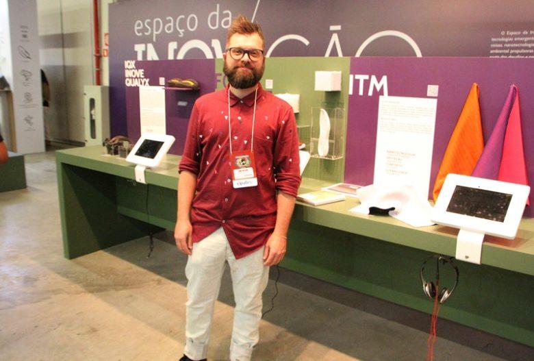 André Gusebarbi no Espaço da Inovação do Inspiramais 2019 _ II (Foto: Henrique Fonseca)