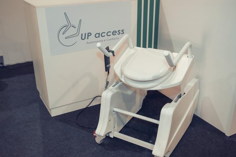 Up Access é a empresa que idealizou o vso sanitário que ativa a autonomia dos idosos - Foto - Gramado: Dinarci Borges
