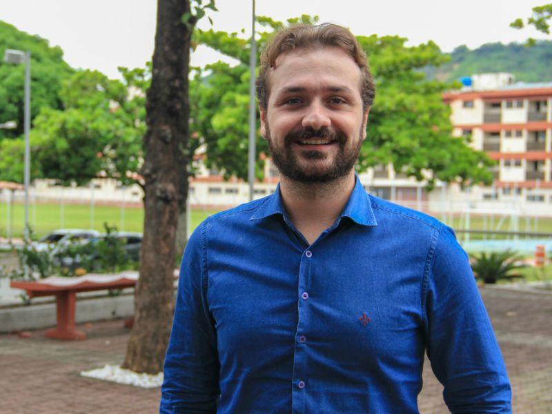Celso Junior é coordenador de cursos técnicos do SENAI CETIQT e idealizador do projeto Corrida do Conhecimento (Foto: Divulgação)