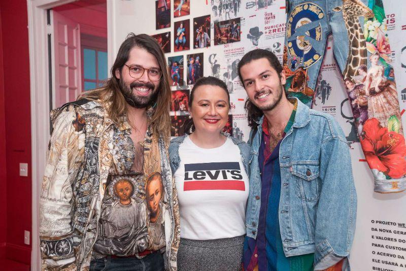 Thomaz Azulay ao lado de Marina Kadooka e Patrick Doering (Foto: Renato Wrobel)