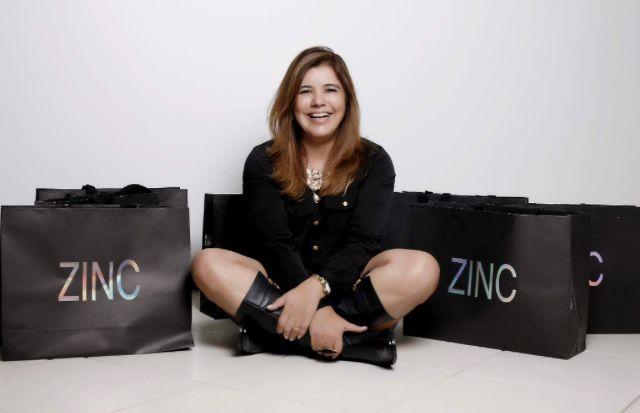 Flávia Oliveira começou sua história com a Zinc na década de 80 (Foto: Divulgação)