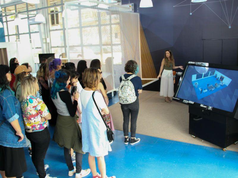 Os alunos tiveram a chance de entender melhor quais as propostas das empresas (Foto: Divulgação)