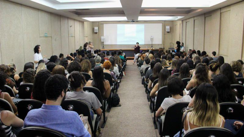 Os estudantes assistiram também palestras sobre diversos temas com o foco para o mercado de trabalho (Foto: Divulgação)