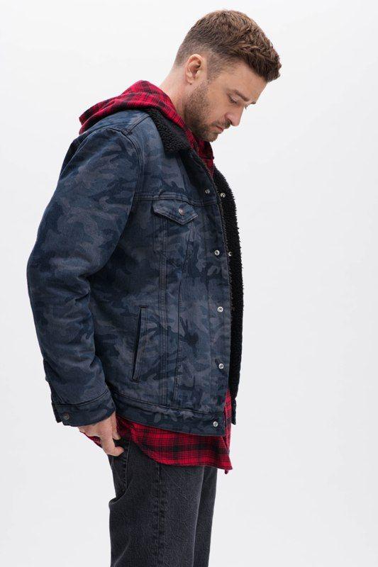 Timberlake em collab com a Levi's (Foto: Divulgação)
