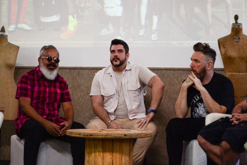 Entre Ronaldo Fraga e Alexandre Herchcovitch, Ed Benini, diretor de casting, disse que vai imprimir diversidade na passarela (Foto: Anna Castro)